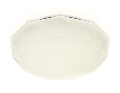 Потолочный светодиодный светильник с пультом FF18 WH белый 72W 500*500*75 (ПДУ ИК)