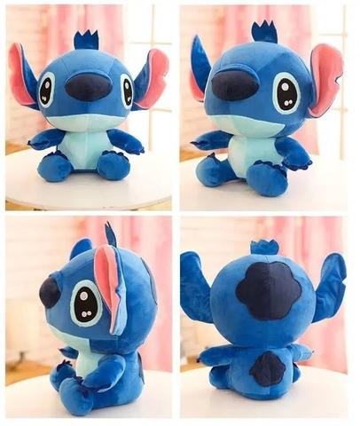 Подушка игрушка Стич голубой (65 см)