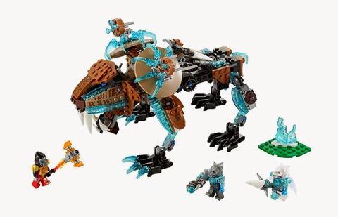 LEGO Chima: Саблезубый шагающий робот Сэра Фангара 70143 — Sir Fangar's Sabre-Tooth Walker — Лего Чима