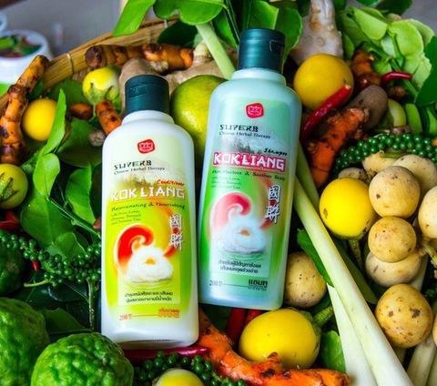 Травяной шампунь Kokliang против выпадения волос