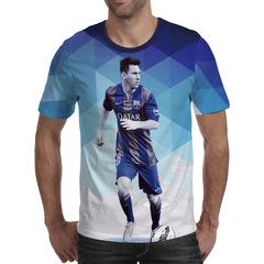 Футболка 3D принт, Лионель Месси (3Д Messi) 02