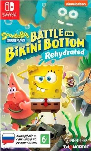 SpongeBob SquarePants: Battle for Bikini Bottom - Rehydrated Стандартное издание (Nintendo Switch, русские субтитры)