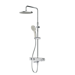F0750A500 Inspire V2.0, душевая система, набор: см-ль д/ванны/душа с термостатом, верхний душ d 250
