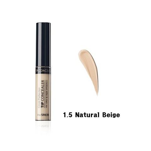 СМ Cover P  Консилер для макияжа пробник Cover Perfection Tip Concealer 1.5 Natural Beige 1ml 1мл (1