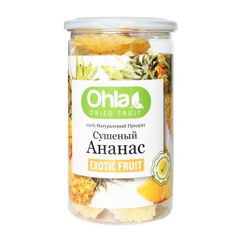 Натуральный сушеный ананас Ohla, 500 г.