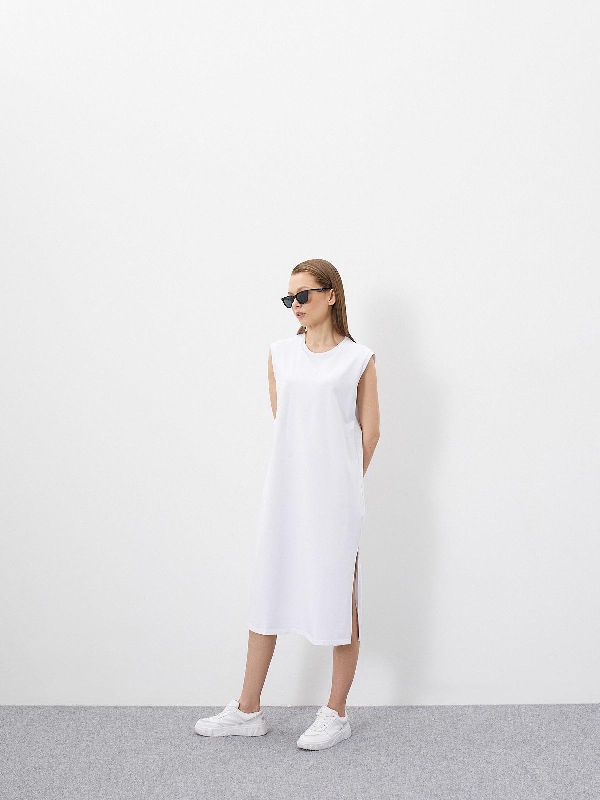 Платье-футболка Nat без рукавов