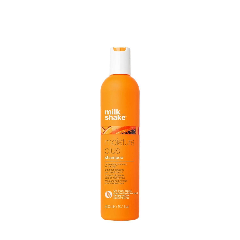 Шампунь увлажняющий для сухих волос с экстрактом папаи и гиалуроновой кислотой / Milk Shake moisture plus shampoo300 мл