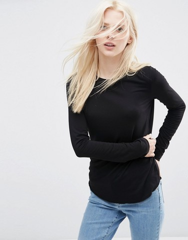 ASOS T-Shirt with Long Sleeves