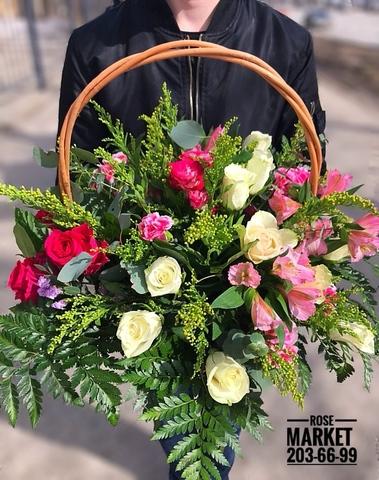 Цветы в корзинке #1787