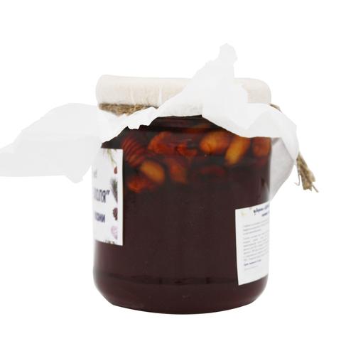 Варенье из сосновой хвои с ореховым ассорти, Дары Андреаполя, 300 г