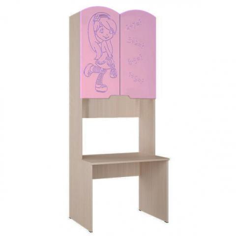 Письменный стол Юниор 3 розовый