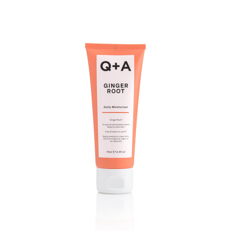 Крем для лица Q+A Ginger Root Daily Moisturiser 75 мл