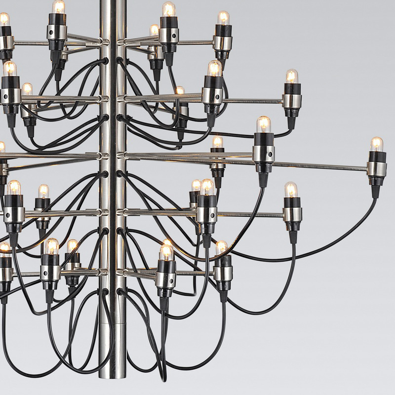 Подвесной светильник копия 2097 18 by Flos (серебряный)