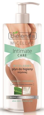 Мицеллярное средство для интимной гигиены, Алое + Молочная кислота, 300 мл