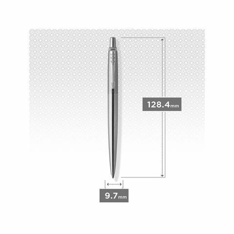 Набор с гравировкой: Ежедневник недатированный и Шариковая ручка Parker Jotter Essential, St. Steel СT123