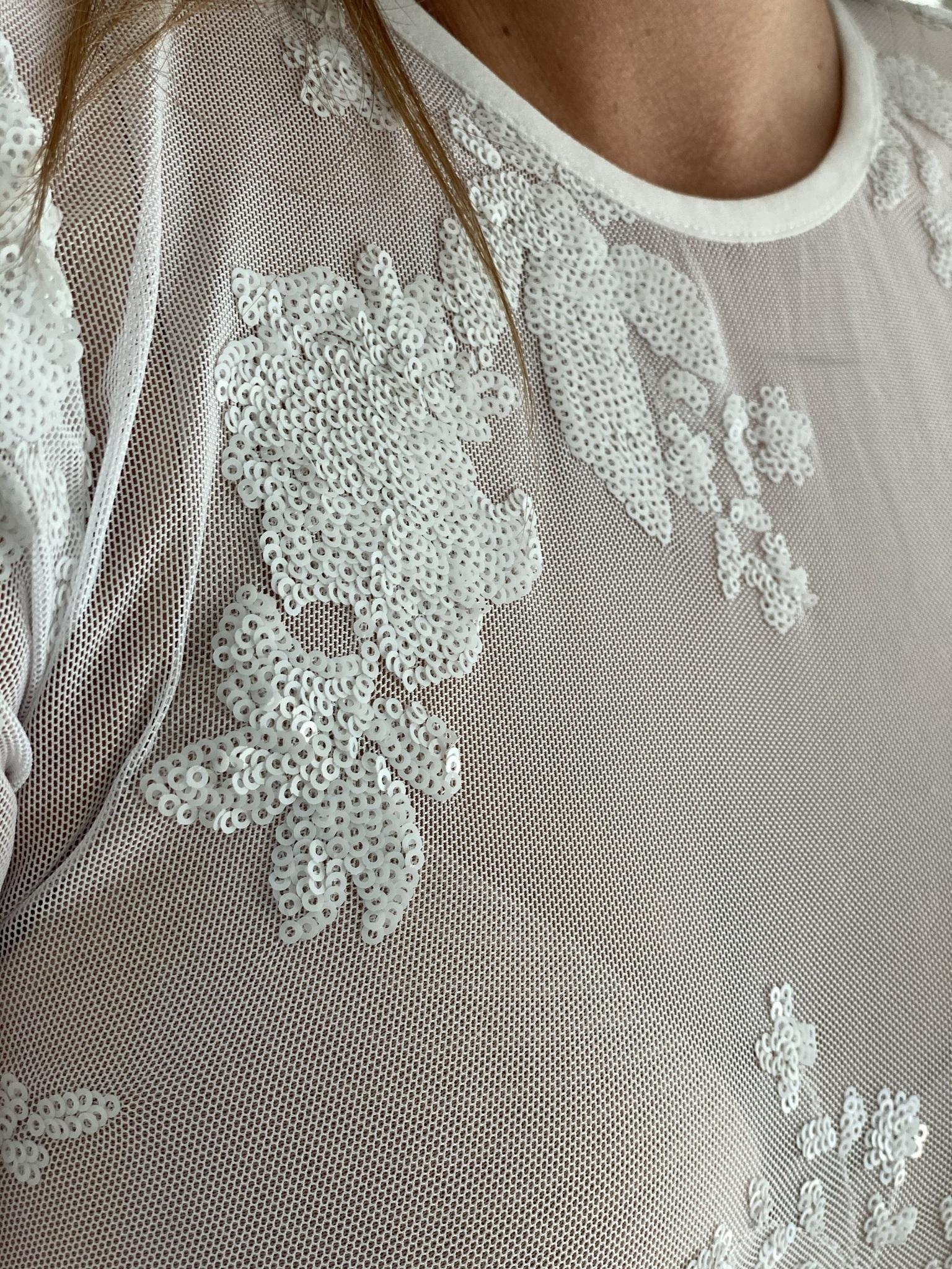 Платье, UNO, MHH28 (белый)
