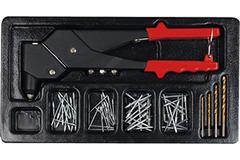 Набор инструмента в ложементе AmPro (65 предметов) T30902