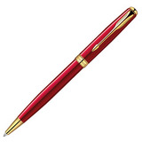 Шариковая ручка Parker Sonnet K539 ESSENTIAL LaqRed GT Mblack (1859472)
