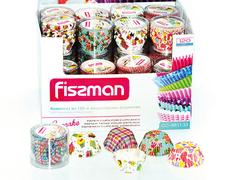 6611 FISSMAN Комплект формочек 33x21 мм 120 шт