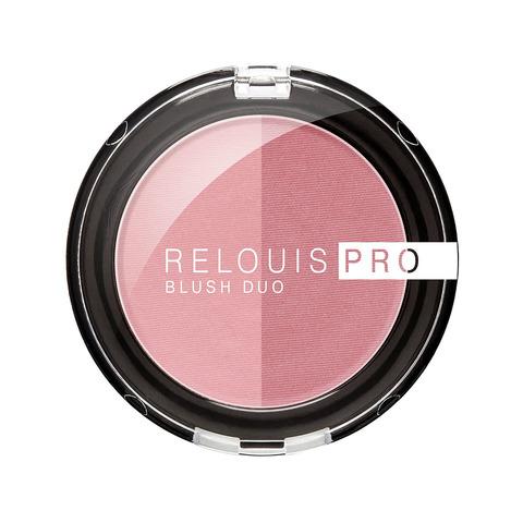 Румяна компактные Relouis Pro Blush Duo тон 202