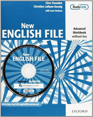 9780194594646 - New English File Advanced:  Workbook without key and MultiROM Pack