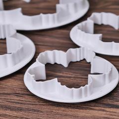 Формы-вырубки для создания пионов из мастики, 4 шт