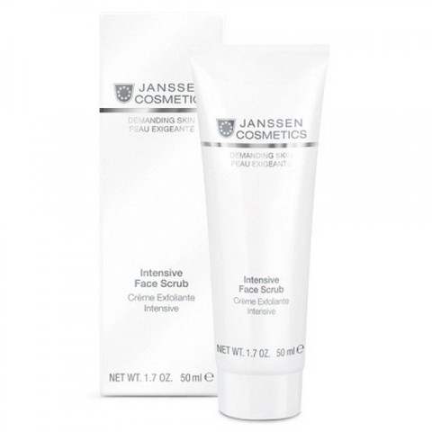 Интенсивный скраб Intensive Face Scrub, Demanding Skin, Janssen Cosmetics, 50 мл