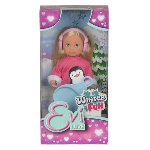 Kukla Еви 12 см в зимнем костюме