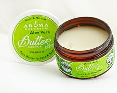 Масло для лица и тела твердое Алое Вера AROMA NATURALS, 95 гр