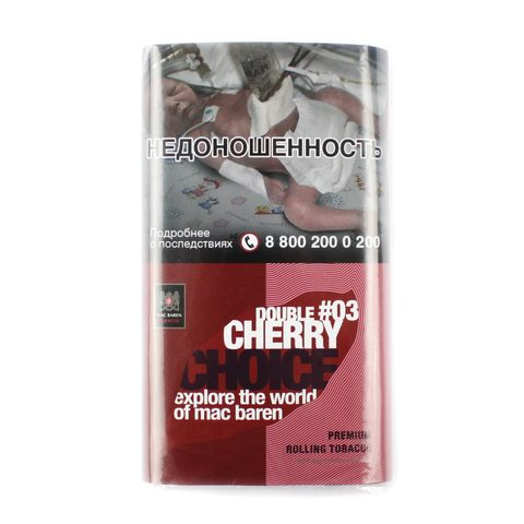 Табак сигаретный Mac Baren DOUBLE CHERRY CHOICE 40 гр