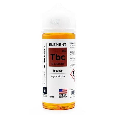 Жидкость Element 120 мл Tobacco