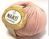 Пряжа Nako Merino Blend DK 5408 пудра