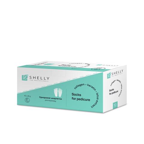 Набір шкарпеток для педикюру Shelly 10 шт. (1)
