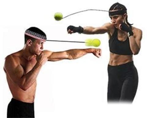 Купить тренажер для бокса - мячик на резинке (Fight Ball)