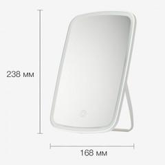 Зеркало косметическое настольное Xiaomi Jordan Judy Tri-color Led Makeup Mirror (NV505) с подсветкой
