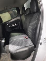 Чехлы на Mitsubishi L-200 2015–2021 г.в.