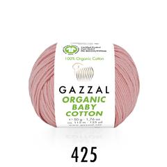 Пряжа Organic baby cotton Gazzal хлопок 100%