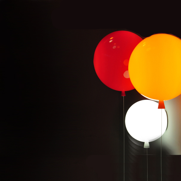 Настенный светильник копия MEMORY by Brokis D 35 (красный)