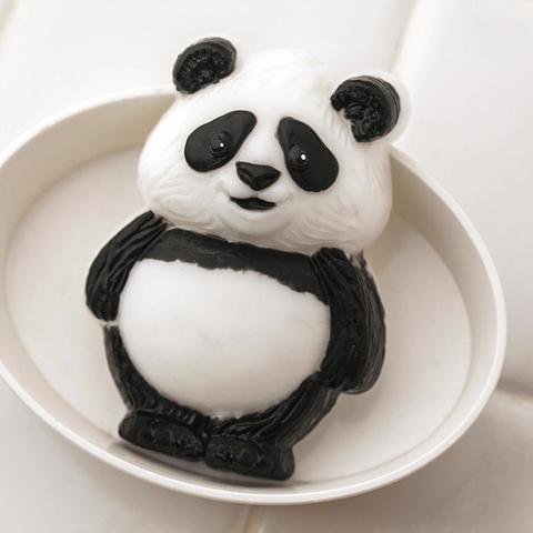 Пластиковая форма для мыла Панда