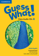 Guess What! 4 Class Audio CDs (2)