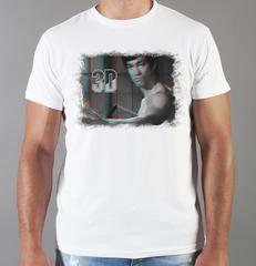Футболка с принтом Брюс Ли (Bruce Lee) белая 0011