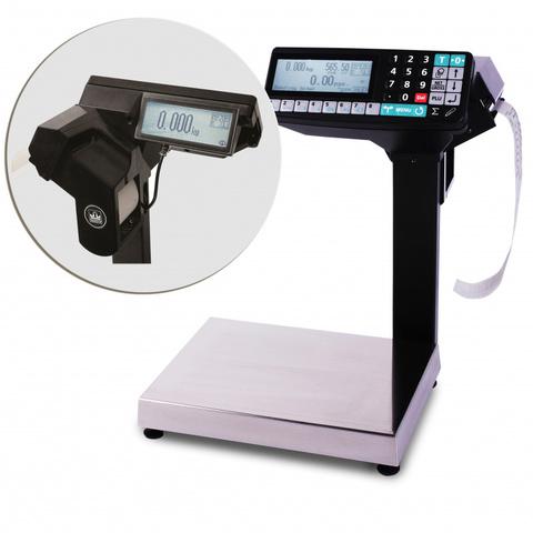 Весы с печатью этикетки МАССА МК-15.2-R2P-10-1 купить волгоград