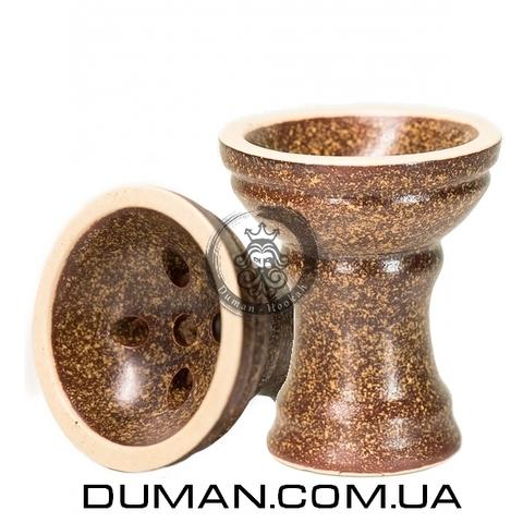Чаша Gusto Bowls Turkish v2.0 Glaze II (Густо Болс Турка) Коричневый с желтым