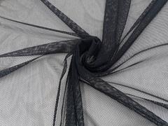 Эластичная сетка, черная, крупные ячейки, (Арт: ESK-170)