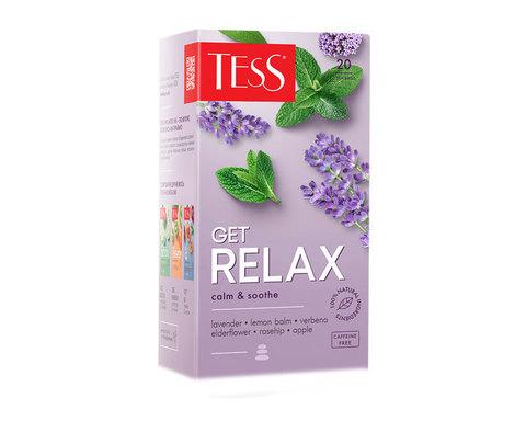 купить Чайный напиток в пакетиках Tess Get Relax 20 пак/уп