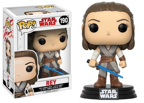 Фигурка Funko POP! Bobble: Star Wars: E8 TLJ: Rey (POP 2) 14743