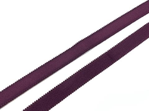 Резинка бретелечная слива 15 мм (цв. 076)