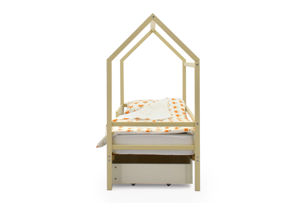 Кровать-домик «Svogen бежевый»