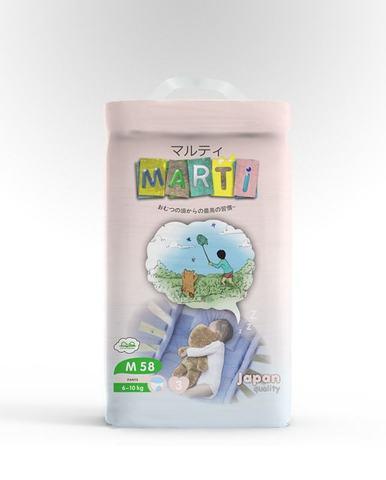 Трусики размер M 58 шт 6-10кг Marti