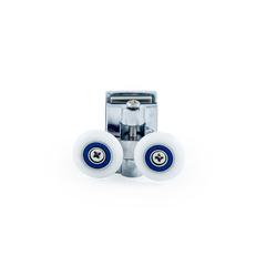 Купить ролик верхний Ø 25 мм регулируемый, двойной металлический для душевой кабины DC 1027 не дорого в Краснодаре